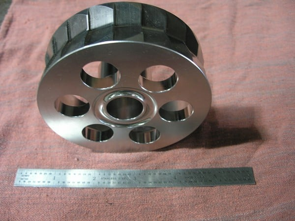 CNC Lathe & 4th Axis Mill Drive Wheel 2 (2)