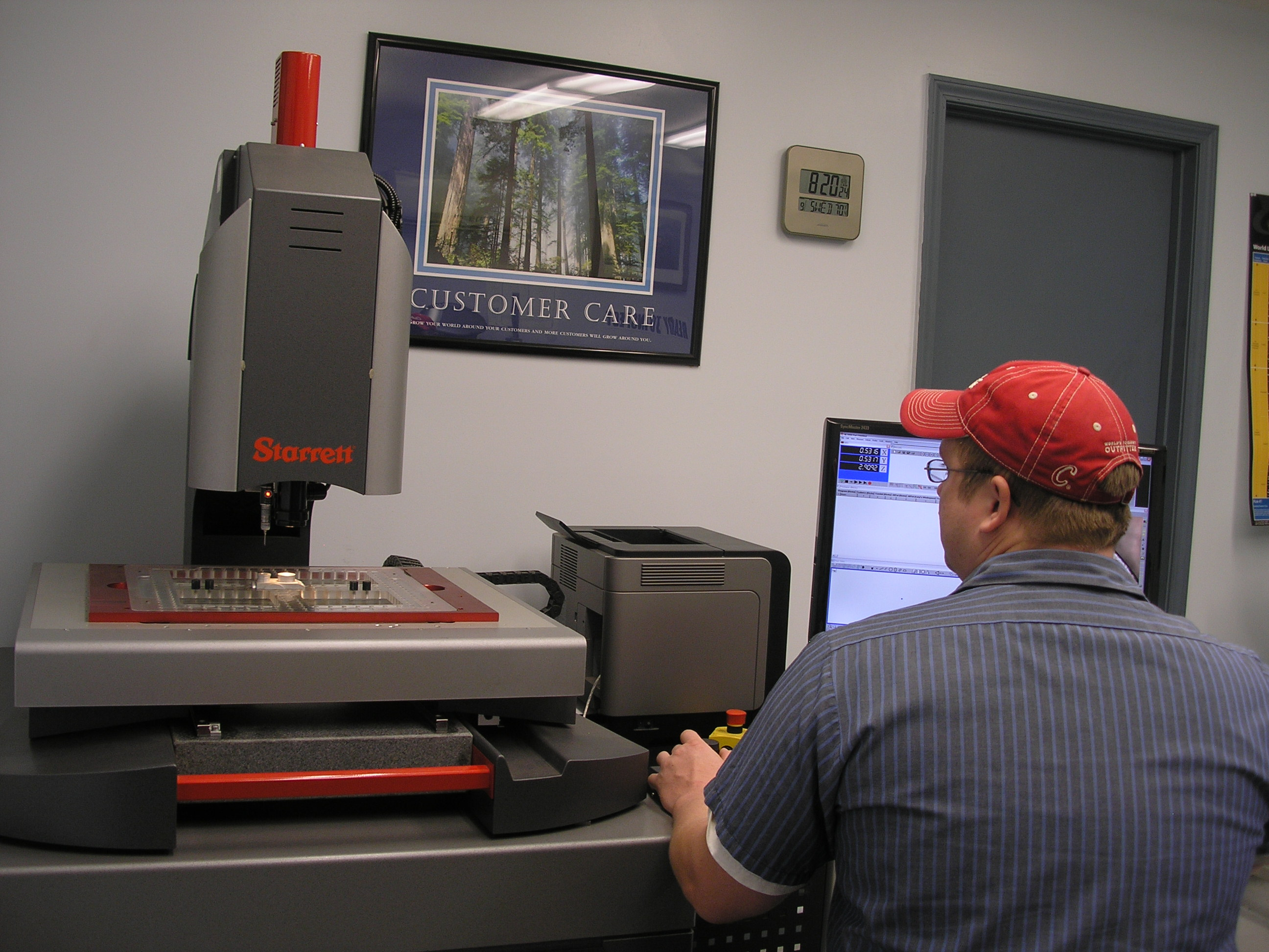 Lindsay Machine Works Quality Control Process