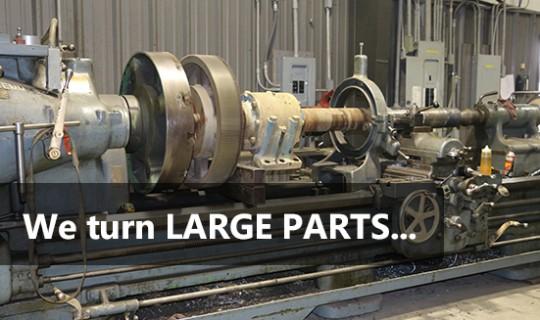 Large Turning Lathe – OEM Part Repairs