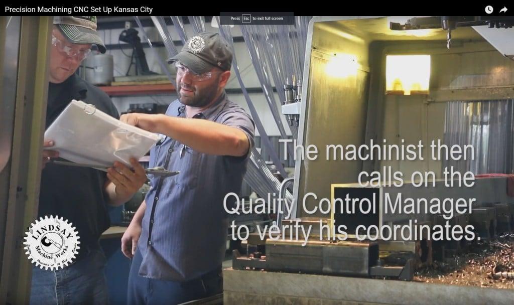 Precision Machining CNC Set-Up in Kansas City Shop