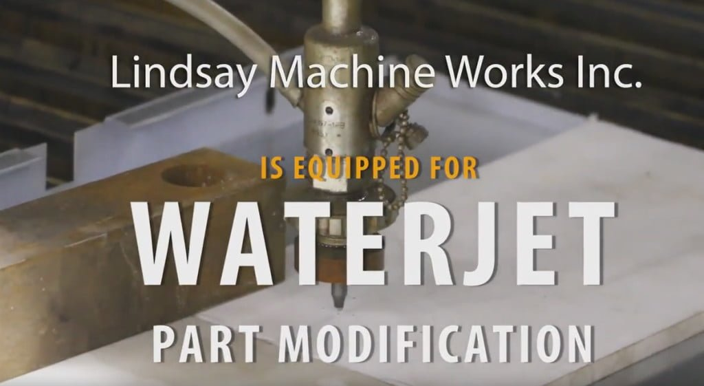 WaterJet in Kansas City – Part Modification