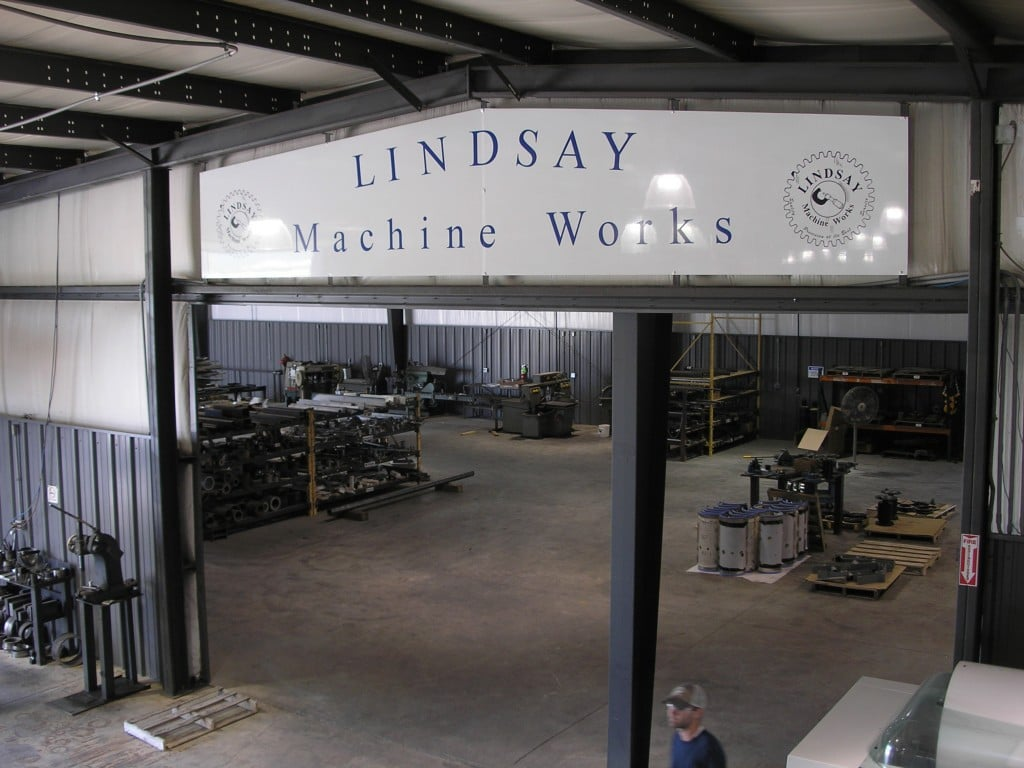 lindsay machine shop