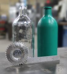 CNC Replication - Machined Calabration bottle