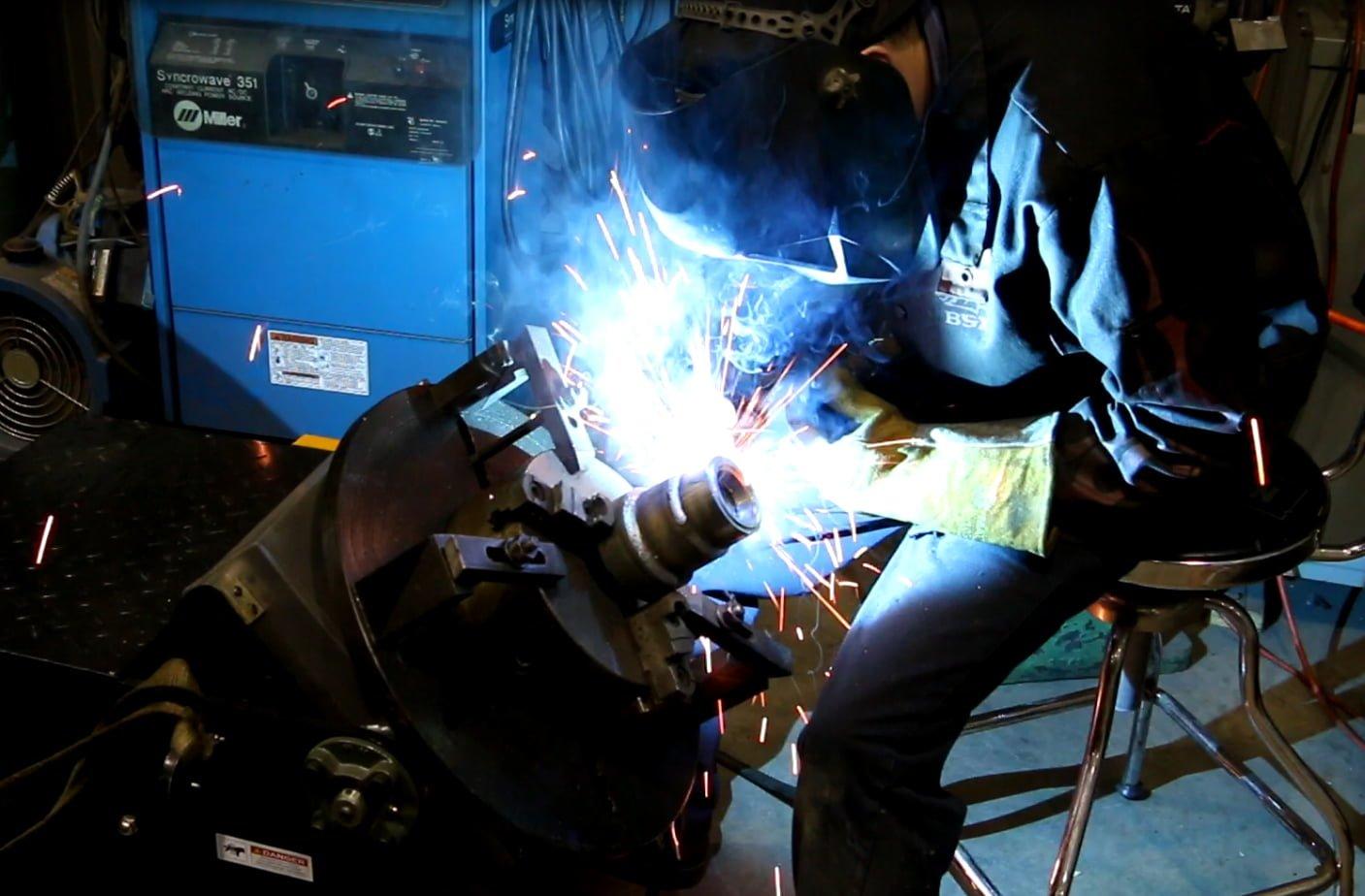 welding machine shops
