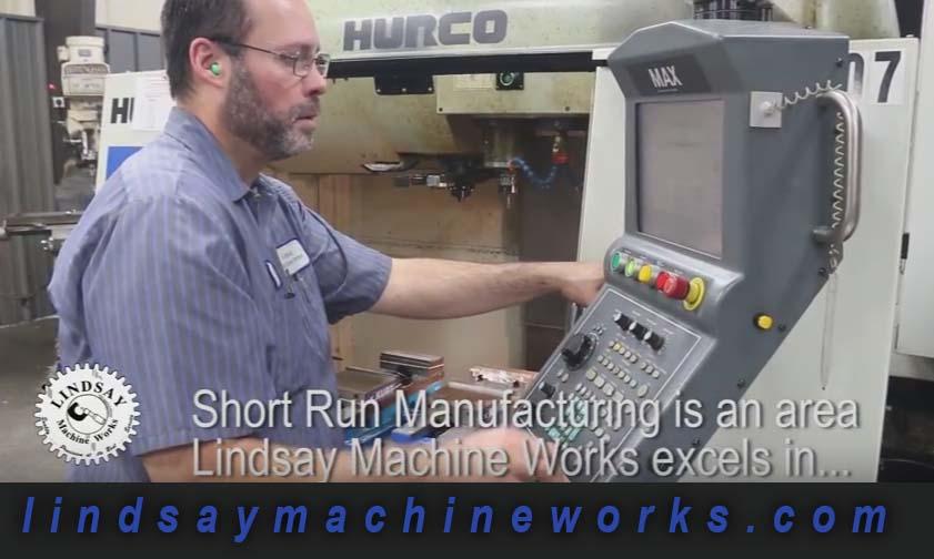 short run machine shop