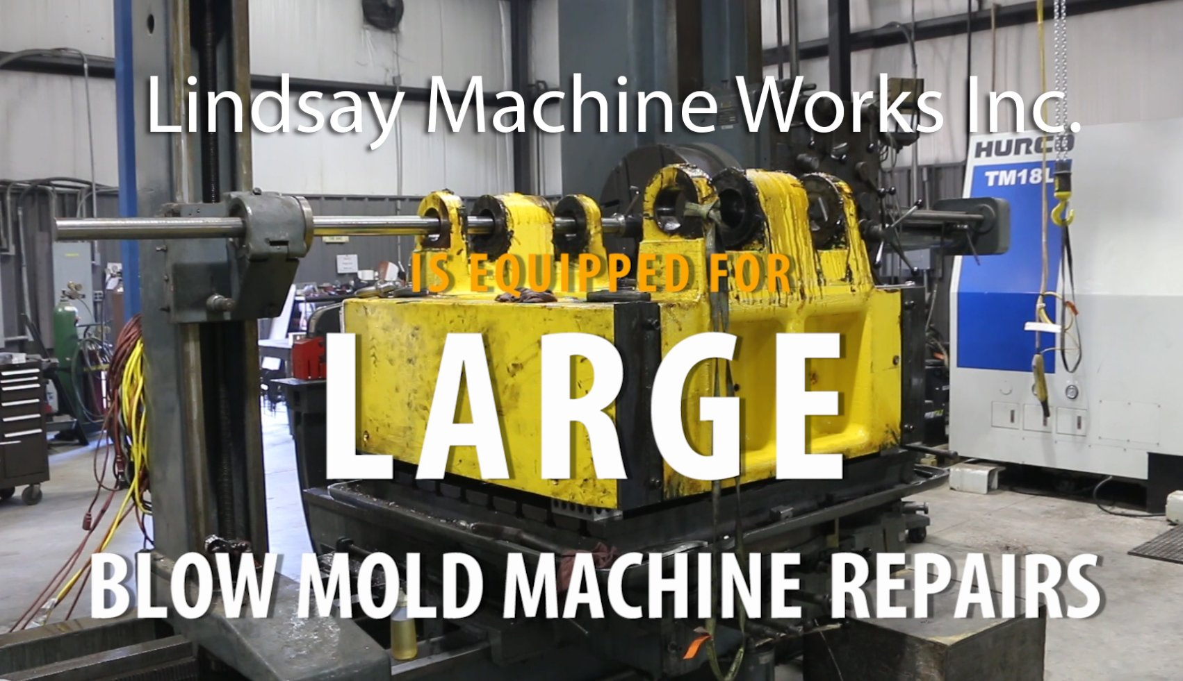 Large Blow Mold Machine in Kansas City