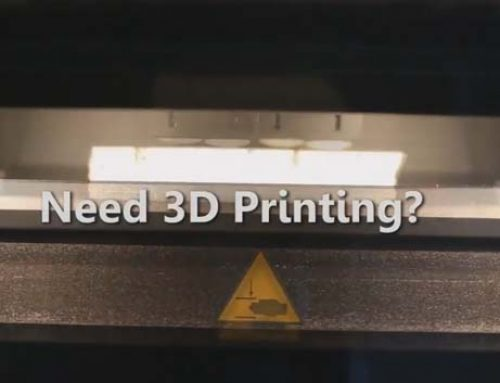 3D Printing – Short Runs and Contract Manufacturing
