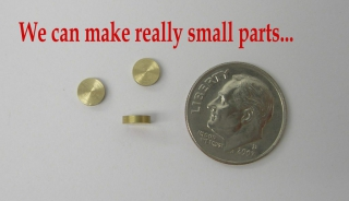 Small Part and Component Manufacturing - Machine Shop