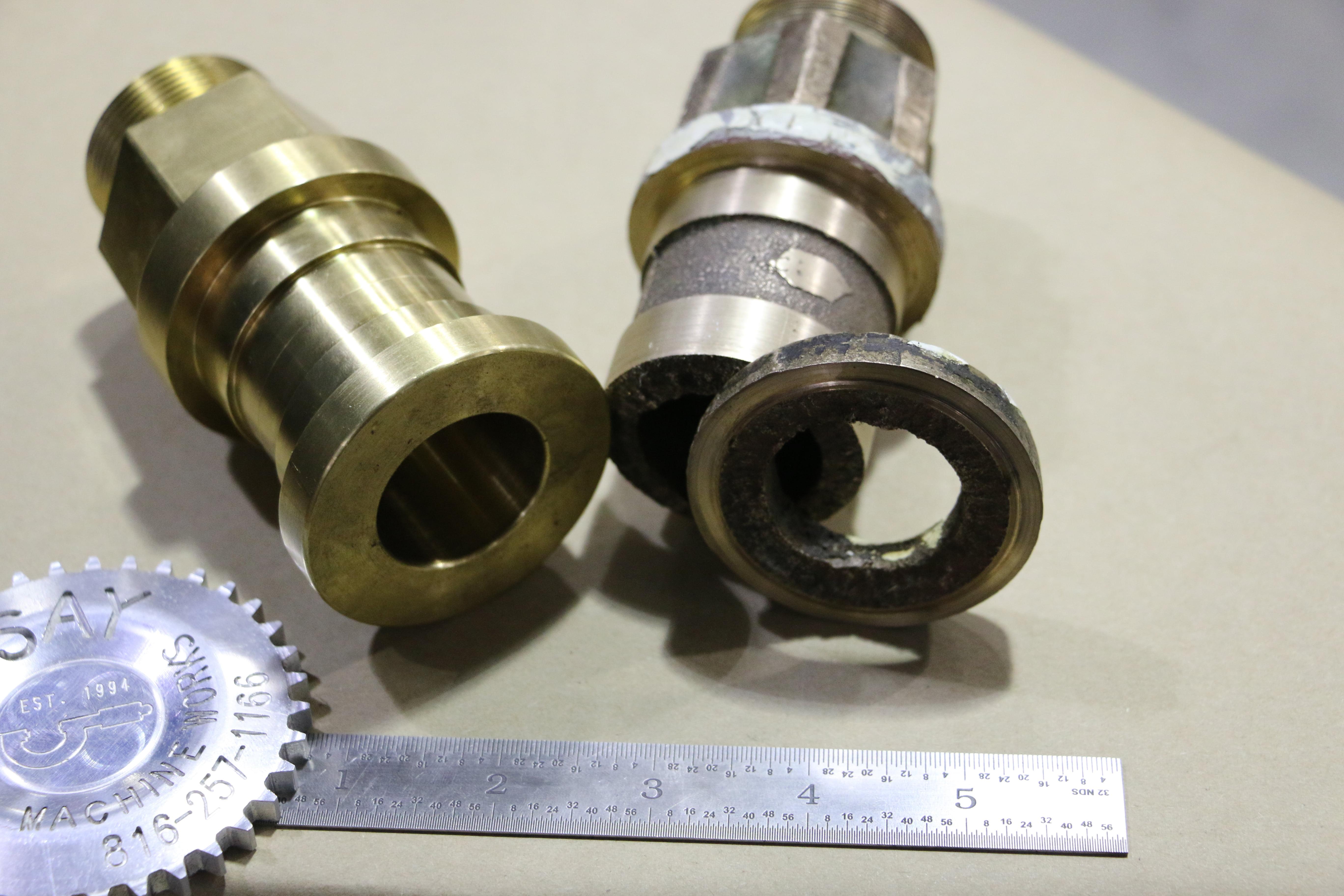 Brass Part Reverse Engineering CNC Machining