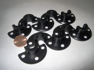 CNC Black Acetal Parts Kansas City Machine Shops