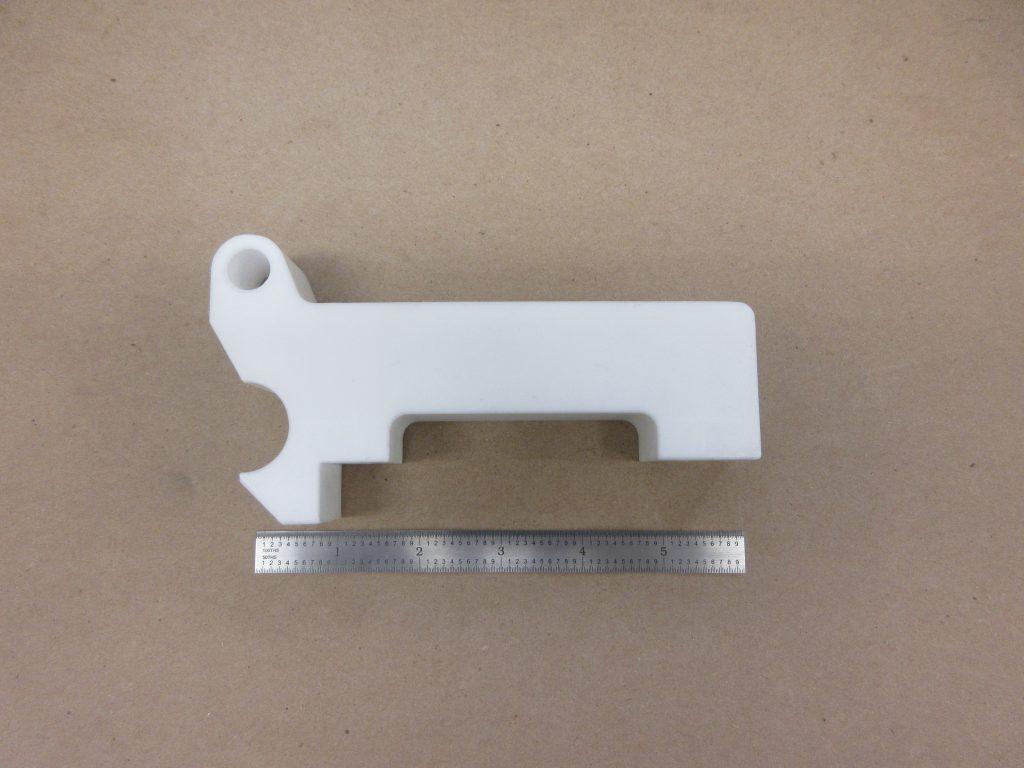 Machining plastic prototype parts